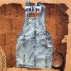 Mode populaire Mesdames Denim Jeans Suspender jupe (HDLJ0014)