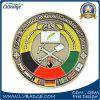 Pièce de monnaie personnalisée en métal d'école avec la coutume votre logo