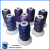 Amorçage en gros de broderie de Computlized de rayonne visqueuse de polyester pour la broderie de rideau