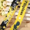 党のためのカスタム昇華ロゴのサテンのリボンか祝祭またはイベント