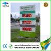 Наружная реклама светодиодный дисплей на заправочной станции (10В)