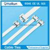 316 non-enduits serre-câble libérable de l'acier inoxydable pour l'industrie