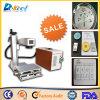Pequena Máquina de gravura do marcador a Laser de fibra de plástico, cubas, componentes eletrônicos