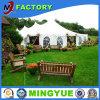 Tiendas calientes de la boda de la venta para la venta con las guarniciones y la lámpara plisadas de Guangzhou