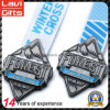 Metall Sports Medaille mit kundenspezifischem Stich des Firmenzeichen-3D