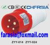 4p 6h IP44 16A de Economische Industriële Stop PP/PA van Cee/IEC
