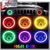 7 지프 논쟁자 Offroad 트럭을%s 인치 50W 둥근 RGB LED 헤드라이트