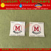 Etiqueta autoadhesiva auta-adhesivo del claro del vinilo de la marca de fábrica de encargo de la promoción