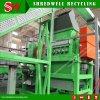 Basura/desecho/neumático usado que recicla la máquina para hacer 10-20m m el pajote de goma