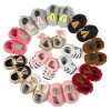 赤ん坊のウォーキング・シューズの方法子供の革靴の赤ん坊靴