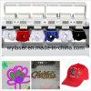 Wonyo 6 компьютеризированных головки винтов с головкой под &ФУТБОЛКА& вышивальная машина с плоской платформой с бесплатным конструкций