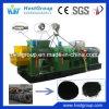 Cadena de producción del neumático de la basura de la desfibradora del neumático de la trituradora del neumático