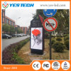 LEIDENE van de Kleur van Yestech P4/P5mm de Volledige Adverterende VideoRaad van het Teken