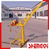 Mini guindaste da construção com boa qualidade 200kg 300kg 400kg 500kg
