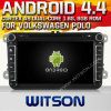 Vwポロ(W2-A9240)のためのWitson Android 4.4 System Car DVD