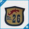 Contrassegno tessuto indumento/distintivo dell'OEM con il marchio su ordinazione