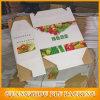 El cartón de empaquetado vegetal encajona el rectángulo