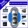 Car DVD Free Shipping ES P210에 4 Cameras Bird View Monitoring Parking Assist Panorama View를 가진 360 도 Car DVR