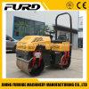 Rouleau de route hydrostatique de 1 tonne de petit de route rouleau tandem de rouleau (FYL-880)