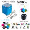 De nieuwe ModelSpreker van de Kubus van de FM van de Kaart van de Manier USB TF Radio Digitale Kleine (TT103)