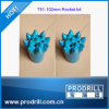 T51 Thread Spherical Rocket Button Bits para Hard Quarry