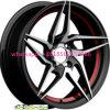 15*7j roda a roda de alumínio 4*100 da liga das bordas 15*7.25 do carro