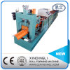Ridge galvanizzato Cap Tile Roll Forming Machine per Roof
