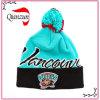 Cappello di lavoro a maglia del Beanie del fiocco di neve