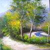 Pittura a olio della lama - 03