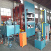 Diseño avanzado bastidor enorme Vulcanizer Transportador de correa de goma con sistema hidráulico de la prensa caliente para la curación de lámina de goma