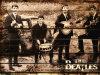 Vintage Panneaux en bois The Beatles