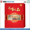 Caja de papel rojo Festival Caja de embalaje