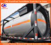 40FT Liquid Chemical/Fuel Tank Container 40FT ISO Oil Tank Container