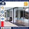 Porte coulissante multilames en aluminium/aluminium porte extérieur