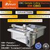O traço CB03 Beijar-Cortou V-Cortou da espuma de borracha do cartão da caixa da caixa a máquina de estaca Flatbed da amostra do CNC
