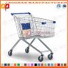 슈퍼마켓 유럽 작풍 아연 또는 크롬 쇼핑 트롤리 (Zht14)