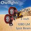 Motorräder Parts IP68 LED Driving Lamp, 3 Inch 9-32V 12W 12V Ledwork Light für Offroad SUV ATV