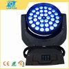Déplacer la tête d'éclairage à LED pour la phase d'effet de l'éclairage
