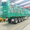Double-Deck hydraulisches anhebendes spezielles funktionellfahrzeug/Zaun/Viehbestand speichern Haus-Stab-Schlussteil