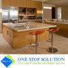 Modules de cuisine d'or de luxe de fini de placage de meubles à la maison (ZY 1077)