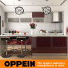 Oppein Red und White Lacquer Cabinet Wood Kitchen Schrank (OP15-L35)