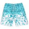 Shorts su ordinazione dello Swimwear della stampa della scheda di usura della spiaggia di modo