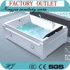 Factory Outlet porcelaine sanitaire de l'acrylique Jacuzzi baignoire de massage (517)