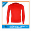 Chemises en nylon de compression de forme physique faite sur commande de gymnastique pour les hommes