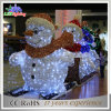 عيد ميلاد المسيح سنة جديدة حزب غرفة [لد] عيد ميلاد المسيح رجل ثلج زخرفة ضوء
