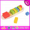 2015新しいInvention 3D Wooden Puzzle Game Toy、Colorful Shape Wooden Sorting Puzzle、Education Wooden Shape Sorting Puzzle W13e047