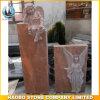 Hete Verkoop van de Rode Grafsteen van de Engel van het Graniet, Grafsteen