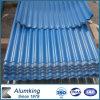 Color blu 3105 Corrugated Aluminum Plate per Roofing
