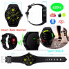 Rond-Écran Bluetooth/téléphone intelligent montre-bracelet de Digitals avec la fréquence cardiaque K89h