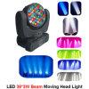 Luz principal móvil de la viga de la luz 36PCS*3W del LED
